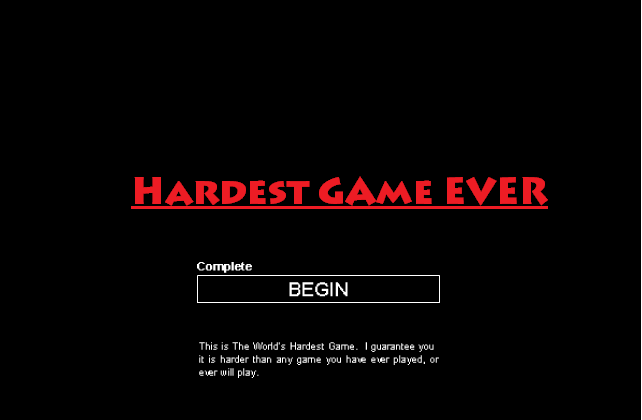 hardest game ever online