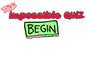 click to play the Impossible Quiz