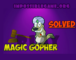 Magic Gopher Game