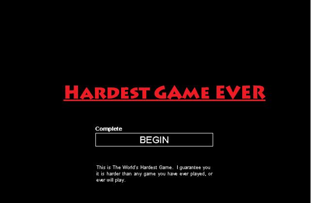 Hardest Game Ever